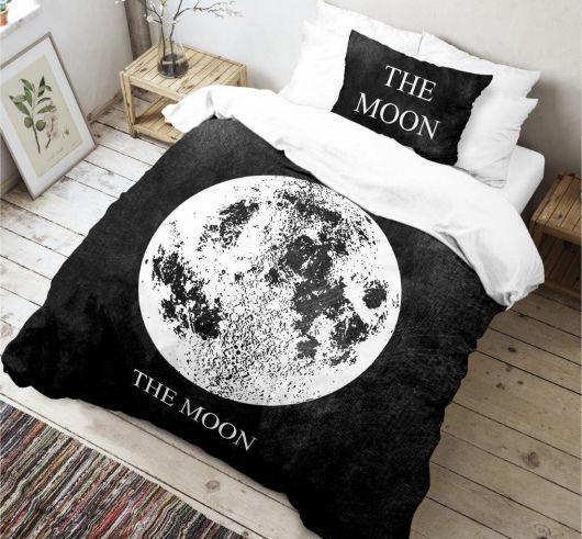 3D obliečky 140x200, 70x90cm Moon