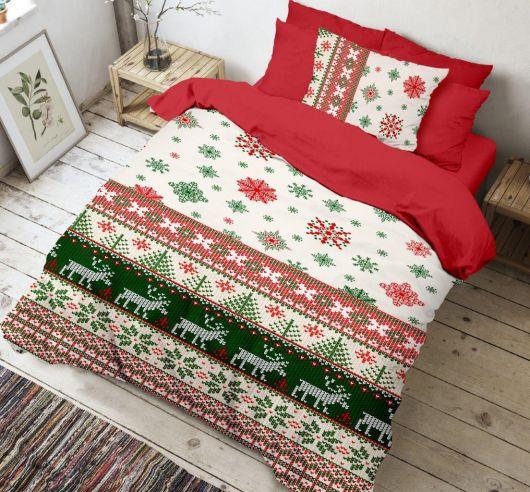 3D obliečky 140x200, 70x90cm Christmas