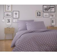 Bavlnené obliečky NORDIC COLLECTION 140x200, 70x90cm OLAVA