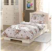 Bavlnené posteľné obliečky PROVENCE COLLECTION 140x200, 70x90cm Adél béžová