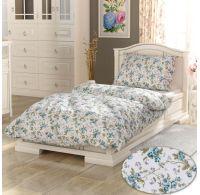 Bavlnená posteľná bielizeň PROVENCE COLLECTION 140X200, 70x90cm Alexis tyrkys