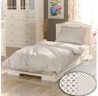 Klasické posteľné obliečky PROVENCE COLLECTION Bouquet béžový