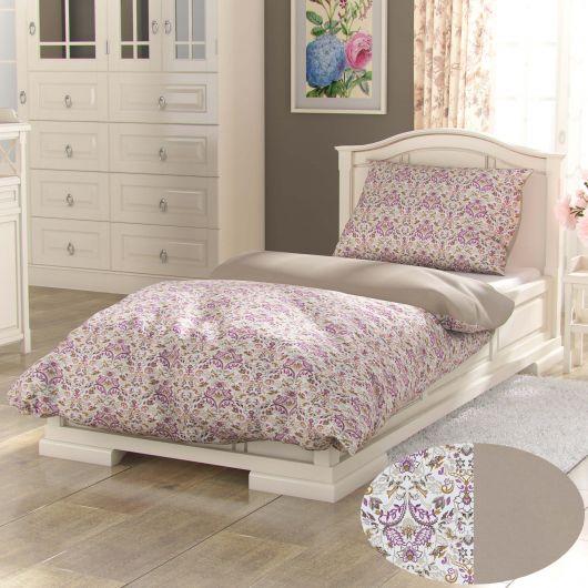 Bavlnené posteľné obliečky PROVENCE COLLECTION 140x200, 70x90cm NARISTA béžová