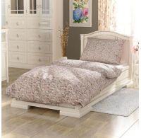Bavlnené posteľné obliečky PROVENCE COLLECTION 140X200, 70x90cm Olívie béžová