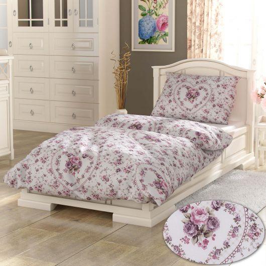 Klasické posteľné obliečky PROVENCE COLLECTION 140X200, 70x90cm Spring rose