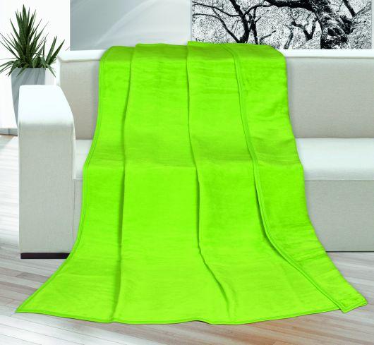 Deka jednofarebná 150x200cm zelená