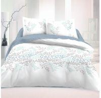Francúzske bavlnené obliečky 200x200, 70x90cm VICTORIA biela