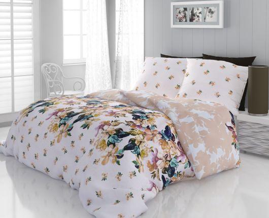 Francúzske bavlnené obliečky 240x200, 70x90cm LAURA
