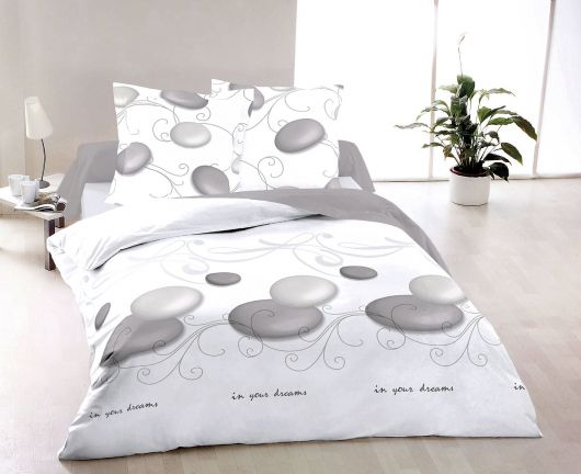 Francúzské bavlnené obliečky ZEN 200x200, 70x90cm