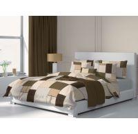 Francúzske bavlnené obliečky FABIO 240x200, 70x90cm