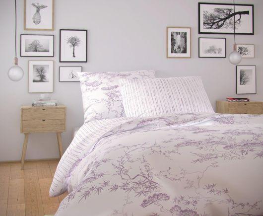Francúzske bavlnené obliečky NORDIC COLLECTION 200x200, 70x90cm DISA