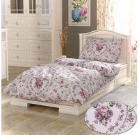 Francúzske bavlnené obliečky PROVENCE COLLECTION 220x200, 70x90cm Spring rose