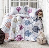 Francúzske predĺžené bavlnené obliečky IVY 240x220, 70x90cm