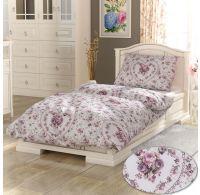 Francúzske predĺžené bavlnené obliečky PROVENCE COLLECTION 240x220, 70x90cm Spring rose