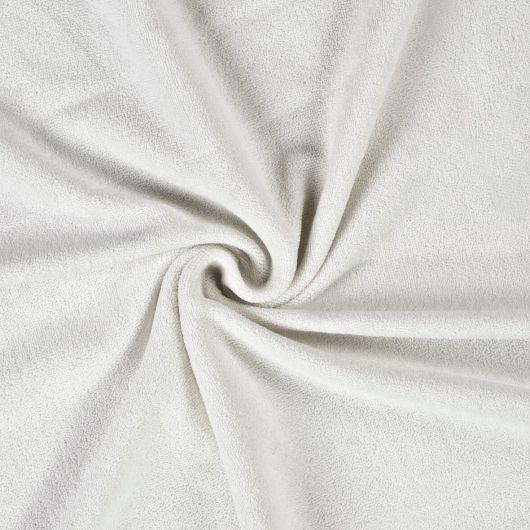 Froté plachta jednolôžko 100x200cm biela