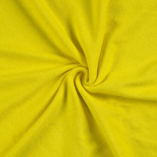 Froté plachta jednolôžko 100x200cm citrón