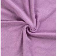 Froté plachta jednolôžko 100x200cm svetlo fialová