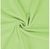 Froté plachta jednolôžko 100x200cm svetlo zelená