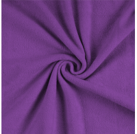 Froté plachta jednolôžko 100x200cm tmavo fialová