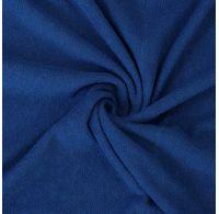 Froté plachta jednolôžko 100x200cm tmavo modrá