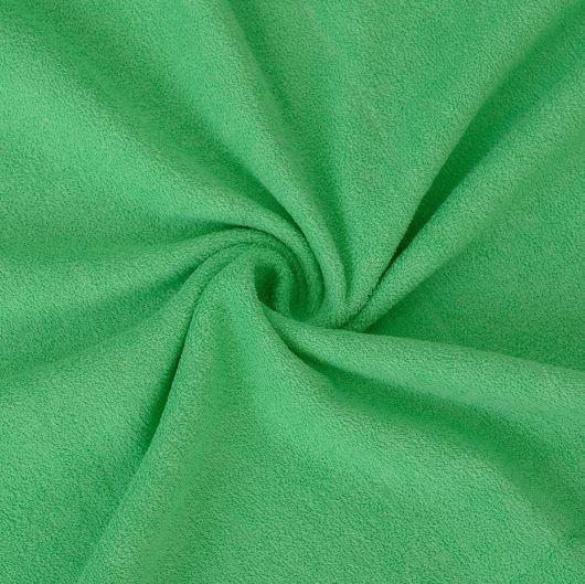 Froté plachta jednolôžko 100x200cm zelená