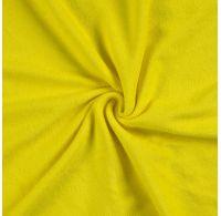 Froté plachta jednolôžko 120x200cm citrón