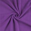 Froté plachta jednolôžko 120x200cm tmavo fialová