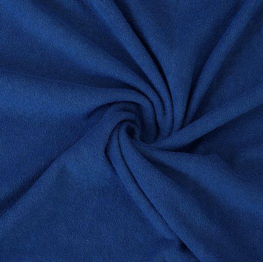 Froté plachta jednolôžko 120x200cm tmavo modrá
