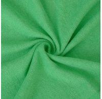 Froté plachta jednolôžko 120x200cm zelená