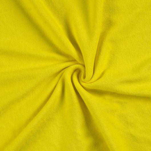 Froté plachta dvojlôžko 160x200cm citrón