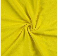 Froté plachta dvojlôžko 200x200cm citrón