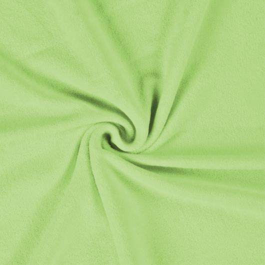 Froté plachta jednolôžko 80x200cm svetlo zelená