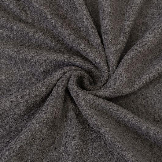Froté plachta jednolôžko 80x200cm tmavo sivá