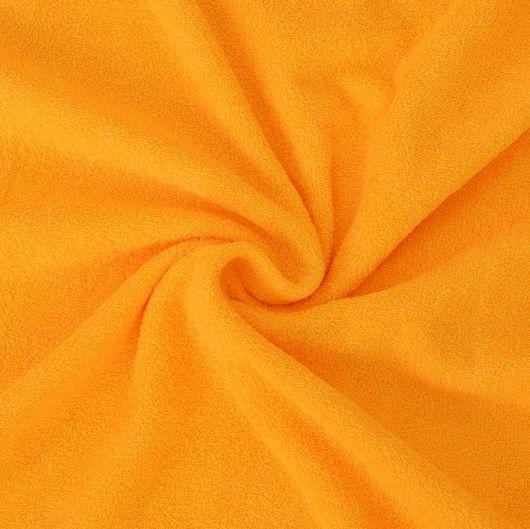 Froté plachta detská 70x140cm sýto žltá