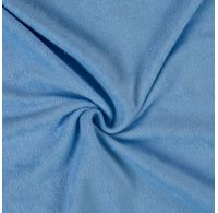 Froté plachta dvojlôžko 180x200cm svetlo modrá