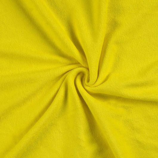 Froté plachta jednolôžko 90x200cm citrón