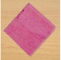 Froté uterák 50x100cm bordúra ružový