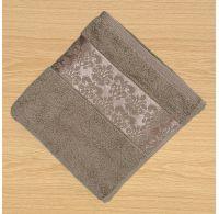 Froté uterák 50x100cm bordúra svetlo béžový