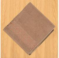 Froté uterák 50x100cm bordúra tmavo béžový