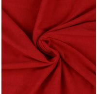 Jersey plachta jednolôžko 140x200cm červená