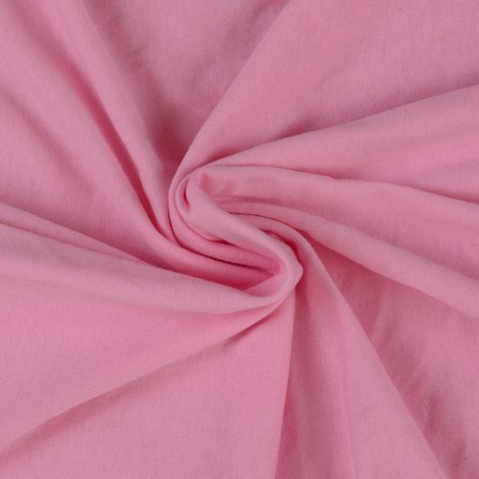 Jersey plachta jednolôžko 140x200cm svetlo ružová