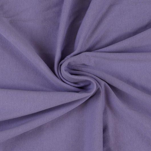 Jersey plachta jednolôžko 140x200cm svetlo fialová