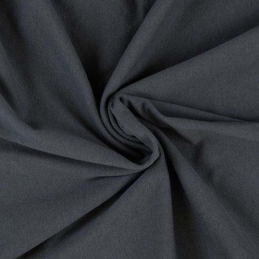 Jersey plachta jednolôžko 140x200cm tmavo sivá