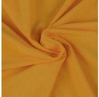 Jersey plachta dvojlôžko 160x200cm sýto žltá