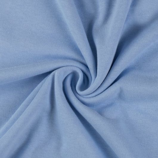 Jersey plachta dvojlôžko 180x200cm svetlo modrá
