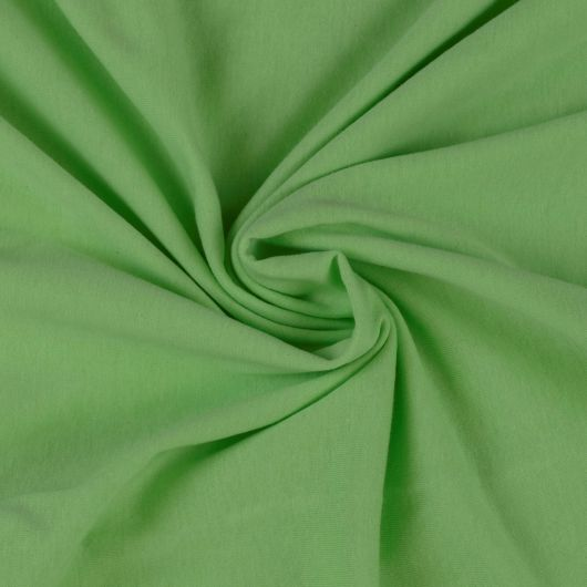 Jersey plachta dvojlôžko 200x200cm svetlo zelená