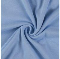 Jersey plachta jednolôžko 100x200cm svetlo modrá