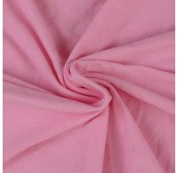 Jersey plachta jednolôžko 120x200cm svetlo ružová