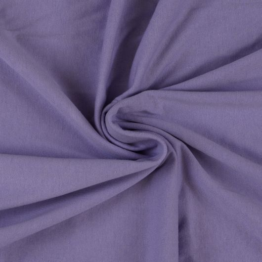 Jersey plachta jednolôžko 120x200cm svetlo fialová