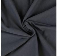 Jersey plachta jednolôžko 120x200cm tmavo sivá